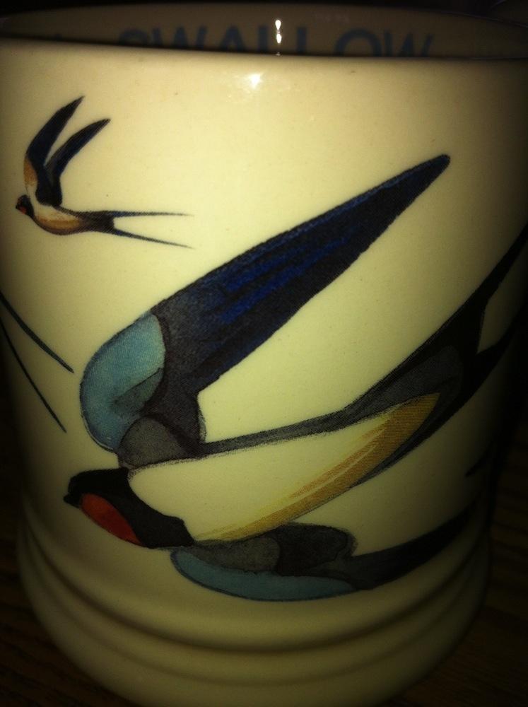 Emma Bridgewater Swallows Mug