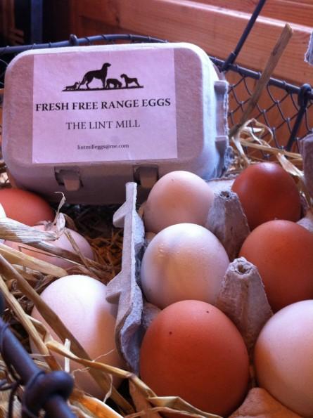 Very free-range eggs